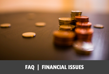 Frequently asked questions about financial issues