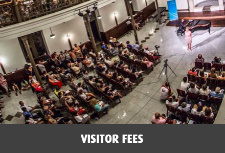 Visitor fees