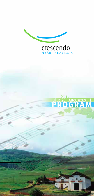 Program booklet 2014