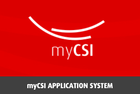 myCSI application system