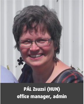PÁL, Zsuzsi (HUN), office manager, admin