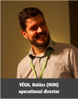 VÉGH, Balázs (HUN) operational director
